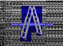 Teleskopske ljestve 45