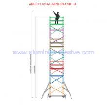 Profesionalna aluminijska skela Argo Plus AP7 /B