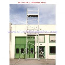 Profesionalna aluminijska skela Argo Plus AP6 /B - mjere