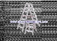 Aluminijske ljestve sa 4 gazišta