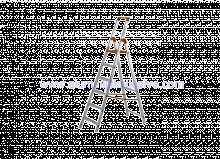 Profesionalne aluminijske ljestve s jednostranim stepeništem 6