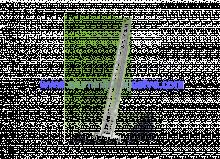 Trodijelne aluminijske ljestve sa sajlom za izvlacenje 3 x 11