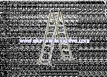 Zglobne aluminijske ljestve 4x4