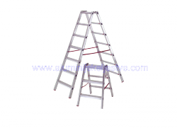 Aluminijske ljestve sa 2 gazišta