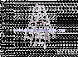 Aluminijske ljestve sa 3 gazišta