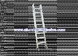 Tavanske (stropne) ljestve - tavanske stepenice 15 s produžetkom